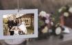 AE模板四套风格补白场景家庭森林花园照片相册片头视频