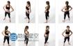 Artmodels360出品人体姿势参考图合辑