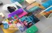 AE模板三维图片展示创意时尚动画视频宣传片头