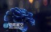 C4D教程:C4D教程-蓝色妖姬生长制作
