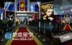 AE模板华丽影视颁奖典礼红地毯展示幻灯片动画