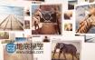 AE模板3D画册商业展示照片幻灯片视频动画