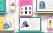 AE模板网店专卖店促销商场网购商品服装折扣广告视频