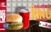 AE模板餐厅食品汉堡包比萨饼快餐店电视商业广告动画