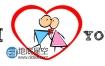 AE模板卡通火柴人浪漫爱情故事