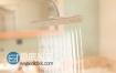 AE教程:使用E3D和Particular制作淋浴花洒水流动画