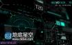 AE模板700组电影游戏军事屏幕显示动态图形HUD高科技科幻元素