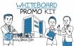 AE模板250多种手绘素描涂鸦白板促销人物公司介绍宣传片推广动画