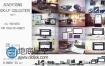 AE模板Element3D三维场景广告模型商品展示动画