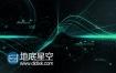 AE模板科幻波浪高科技线条粒子动画自然科学宣传片头