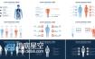 AE模板医疗数据动画医学方面信息图表分析效果