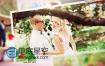 AE模板浪漫情人节婚礼相册时尚家庭照片组合动画