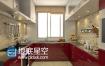 C4D工程:C4D现代厨房模型Kitchen3D模型合辑