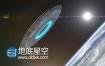 AE模板太空地球外星人飞船飞碟UFOlogo演绎特效动画