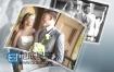 AE模板3D家庭生日婚礼专辑纪念日图片相册照片幻灯片