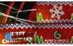 AE模板温馨针织圣诞节快乐片头动画