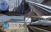 2K超清实拍火车动车行驶视频素材