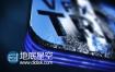 AE模板Element 3D制作的水晶玻璃质感标题logo演绎特效动画