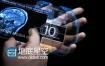 AE模板手拿科技屏幕广告宣传幻灯片促销活动动画