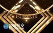 AE模板大气黄金色奥斯卡颁奖典礼晚会活动包装片头动画