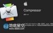 Mac苹果视频压缩编码输出软件 Compressor 4.4 中/英文版本