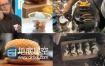 高清实拍各类美食糕点水果饮料视频素材