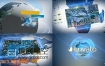 AE模板Element 3D制作的科幻数字地球运动科技企业公司宣传片