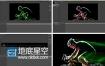AE教程:用AE创建快速流光效果视频教程