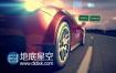 AE模板汽车赛车速度驱动器能源展示视频动画
