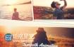 AE模板唯美婚礼纪念日节假日旅游电子相册