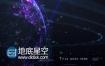 AE模板HUD地球高科技感数字信息安全技术宣传片头