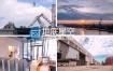 实拍视频工业制造业建筑楼房繁忙景象