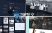 AE模板大气网站主题演示网站推广介绍宣传动画
