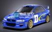 3D模型 斯巴鲁翼豹汽车模型 SQUIR – Subaru Impreza STi WRC
