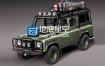3D模型 路虎卫士汽车模型 SQUIR – Land Rover Defender Expedition