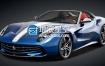 3D模型 法拉利跑车模型 SQUIR – Ferrari F60 America 2015