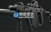 3D模型冲锋枪模型 TDI Vector – KRISS SuperV SMG