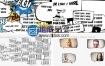 AE模板卡通娱乐综艺节目漫画搞笑泡泡对话框爆炸字幕动画