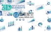AE模板企业公司财务营销管理创业3D信息图表数据分析动画