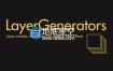 AE脚本 文字固态层图标批量生成LayerGenerators V1.2
