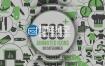 AE模板 500组企业徽章社会医疗业务体育科技网络SEO动画图标