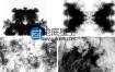 视频素材:水墨散开晕染效果素材
