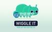 AE脚本:图形抖动MG动画脚本 Wiggle It 1.0