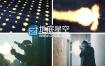 视频素材:450个4K分辨率开抢火焰枪火视频图片特效素材