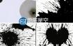 视频素材:56组4K分辨率中国风水墨滴落泼洒动画视频转场素材