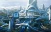模型:未来科幻城市场景3D模型 Kitbash3D – UTOPIA