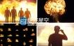视频素材:59组4K分辨率火焰冲击爆炸燃烧场景特效素材