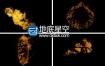 视频素材:220组4K分辨率实拍地面火灾火焰燃烧特效合成素材