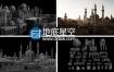 3D模型:中东地区楼房建筑场景 Kitbash3D – MIDDLE EAST