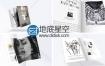 AE模板书籍封面作者杂志三维翻页促销片头动画